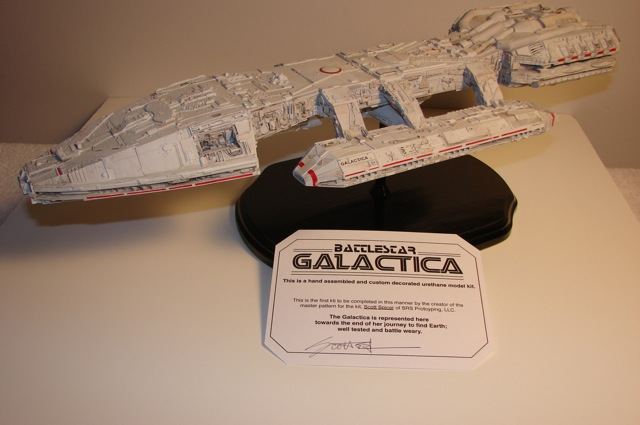 TOS Galactica commission build.